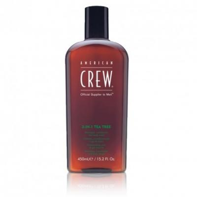 American Crew 3v1 tea tree 450 ml