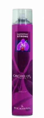 Kléral Lak na vlasy Strong Orchid Oil 750ml