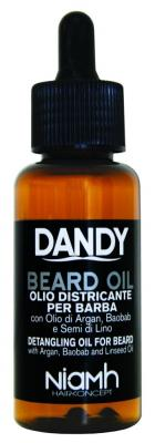 Niamh Hairkoncept Dandy Beard Oil - olej na bradu a vousy 70ml