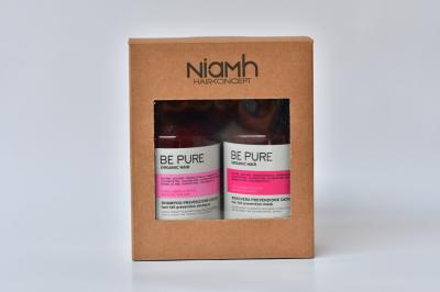 Niamh Hairkoncept šampon a maska Be Pure Prevent Hair Loss - dárkové balení