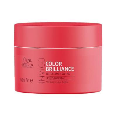 Wella Professionals maska pro jemné barvené vlasy Invigo Color Brilliance Mask Fine Normal 150ml